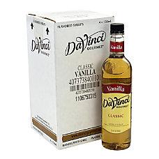 DaVinci Gourmet Syrup Vanilla 2536 Oz