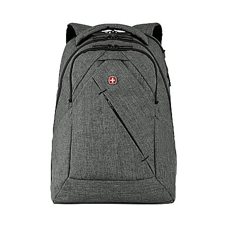 926425ceab973 Wenger MoveUp 16 Laptop Backpack Charcoal Heather - Office Depot