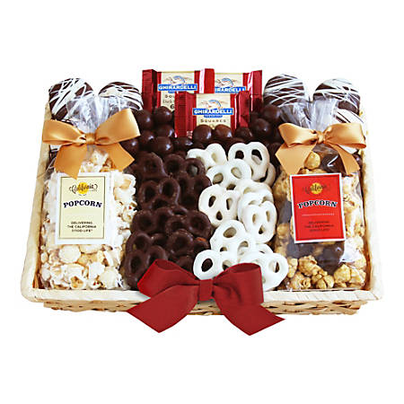 Givens and Company Crunch Time Sweet Snacks Gift Basket