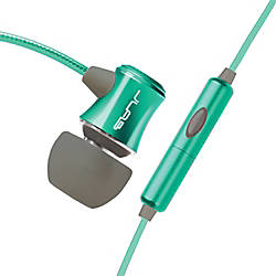 JLab Audio Rock Earbud Headphones Teal