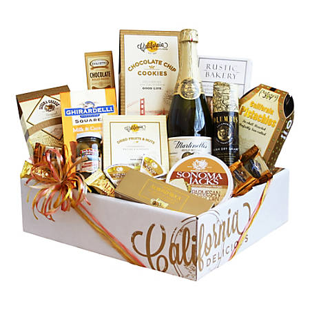 Givens and Company Sparkling California And Artisanal Delights Gift Box