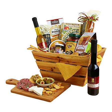 Givens and Company California Italian Style Gift Crate