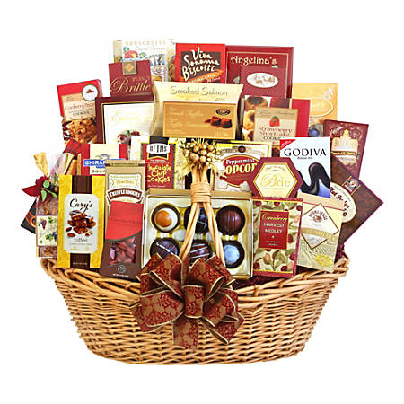 Givens and Company Gourmet Grandeur Gift Basket