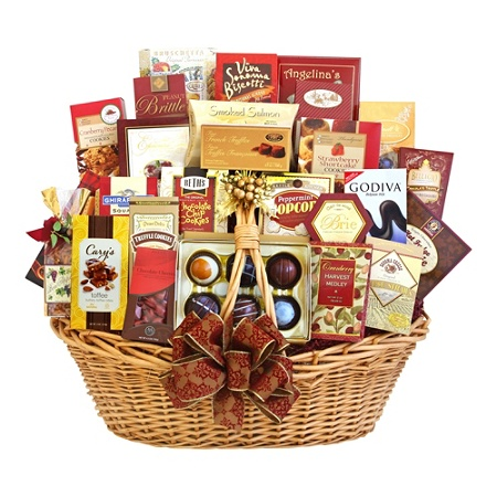 Givens And Company Gourmet Grandeur Gift Basket By Office Depot Officemax