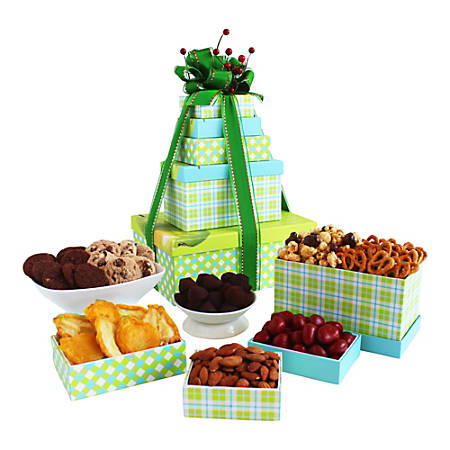 Givens and Company Sweets, Treats And Eats Gift Tower
