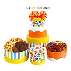 Givens and Company Celebration Birthday Tower