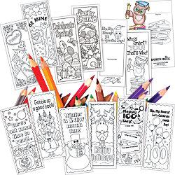 "Barker Creek Color Me! Celebrate The Year Bookmark Set, 6"" x 2 1/2"", Black/White, Set Of 360"
