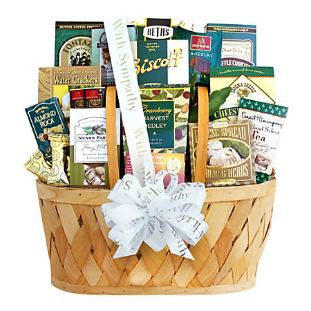 Givens and Company Heartfelt Thoughts Of Sympathy Gift Basket