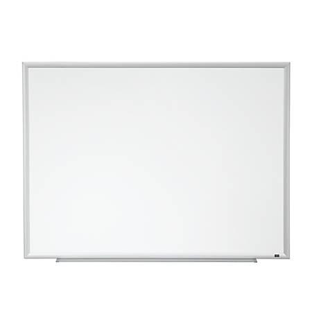 3M Porcelain Magnetic Dry Erase Board Aluminum Frame Silver 36 x 48 ...