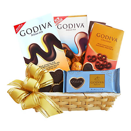 Givens and Company A Gift Of Godiva Gift Basket