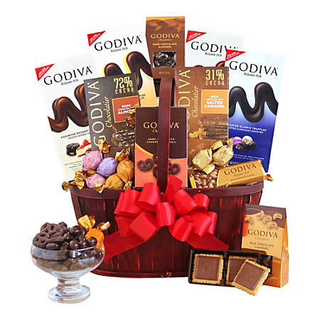 Givens and Company Godiva Connoisseur Gift Basket