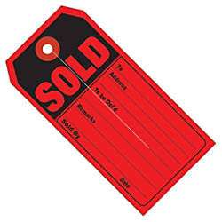 Office Depot Brand Retail Tags SOLD