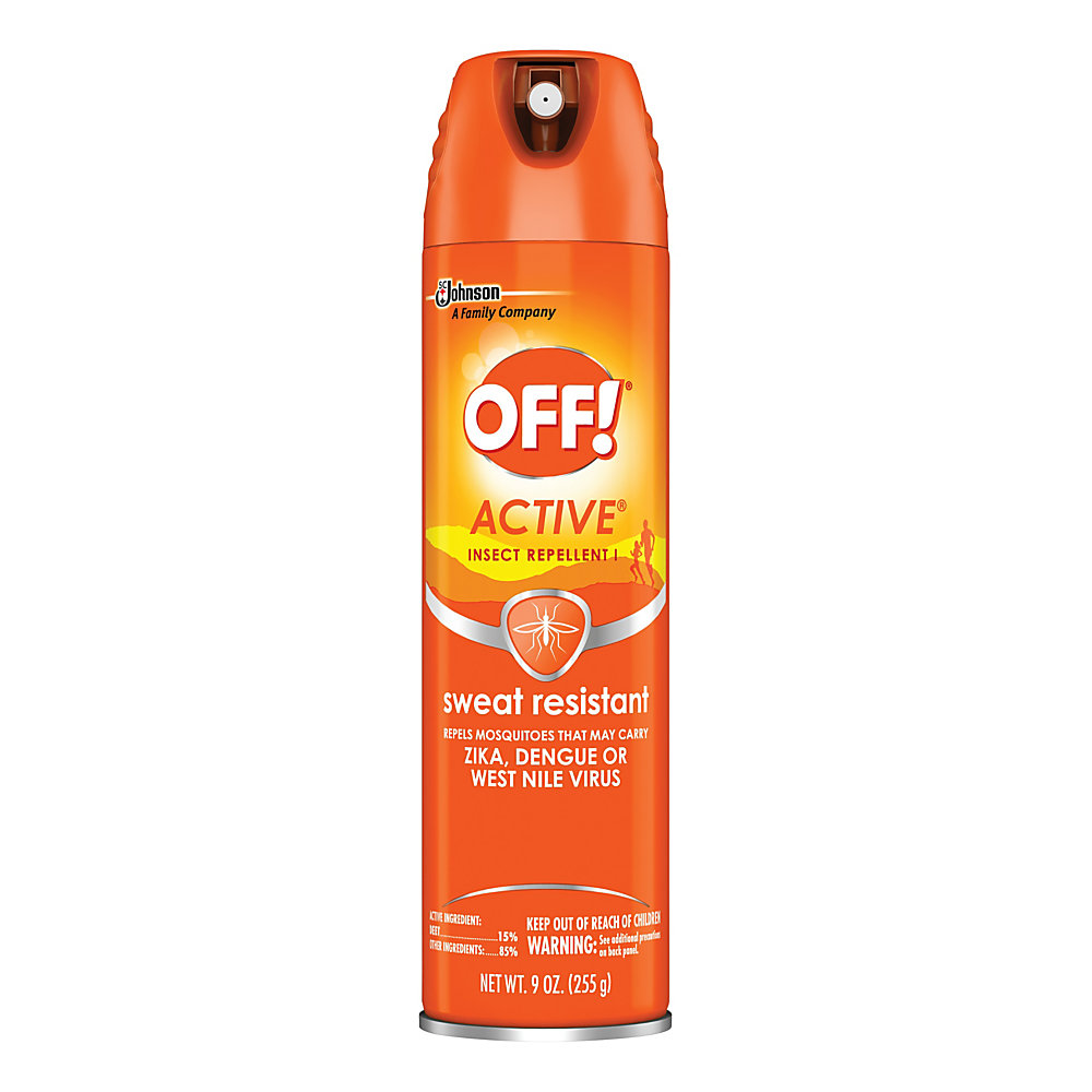 Head outside with OFF! Botanicals insect repellent by your side. The gentle formula is free of DEET and won't leave your skin feeling sticky or greasy, so you can enjoy the great outdoors in comfort.  Helps keep gnats and mosquitoes away.  Plant-based formula is DEET free.  Does not leave a sticky or greasy residue behind.  ACTIVE� formula is designed to resist perspiration, making it great for sports and hiking.