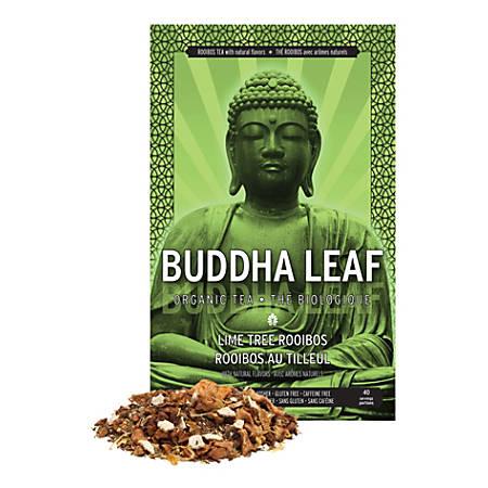 Tea Squared Lime Tree Rooibos Organic Loose Leaf Tea, 2.8 Oz, Carton Of 6 Bags
