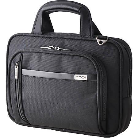 "Codi Duo X2 Carrying Case for 14.1"" Notebook - Black - Ballistic Nylon, Nylon Interior - Handle, Shoulder Strap, Trolley Strap - 10.5"" Height x 14"" Width x 3"" Depth"