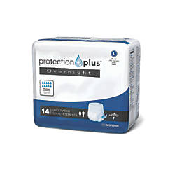 Protection Plus Overnight Protective Underwear Large