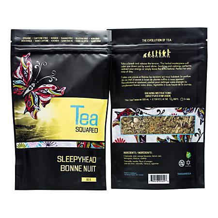 Tea Squared Sleepyhead Organic Loose Leaf Tea, 2.8 Oz, Pack Of 3 Bags