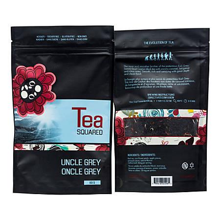 Tea Squared Uncle Grey Loose Leaf Tea, 2.8 Oz, Pack Of 3 Bags