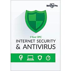 Defender Pro Internet Security Antivirus 1YR