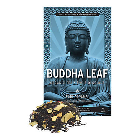 Tea Squared Buddha Earl Caramel Organic Loose Leaf Tea, 2.8 Oz, Pack Of 3 Bags