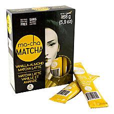 Ma Cha Vanilla Almond Matcha Sticks