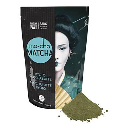 Ma-Cha Kyoto Latte Mix, 7.9 Oz, 12 Per Box, Carton Of 3 Boxes