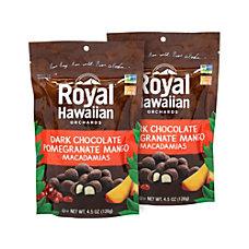 Royal Hawaiian Dark Chocolate Pomegranate Mango