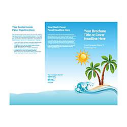 Customizable Trifold Brochure Island
