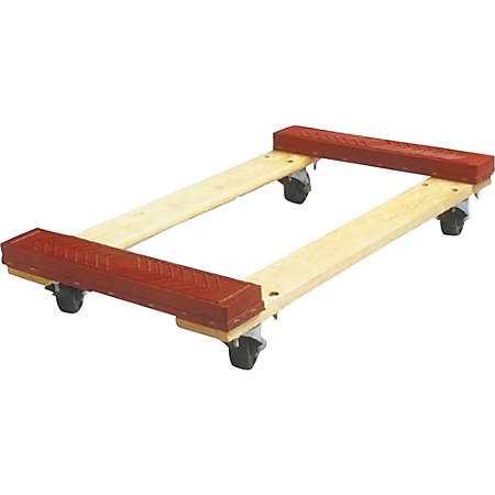 Sparco Cross Member Dolly, 1,000 Lb. Capacity, Red