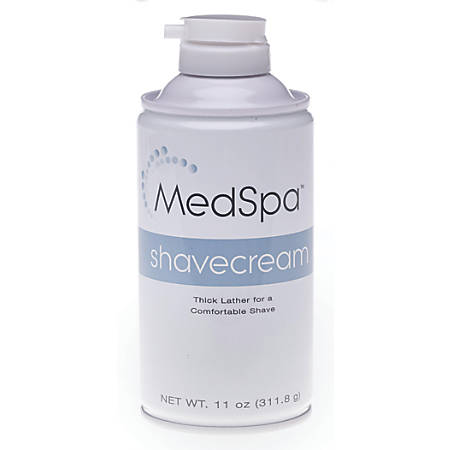 MedSpa Citrus Shave Cream, 11 Oz, Case Of 12