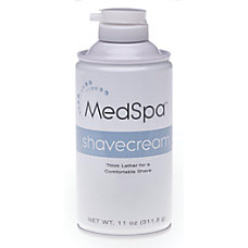 MedSpa Citrus Shave Cream 11 Oz