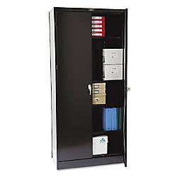 Tennsco Deluxe Storage Cabinet 4 Fixed