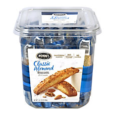Nonnis Classic Almond Biscotti Tub Of