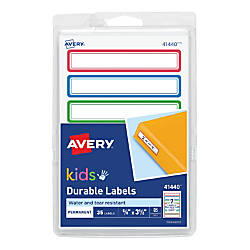 Avery Kids Durable Labels 41440 3