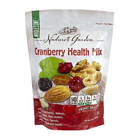 Nature's Garden Cranberry Health Mix, 22 Oz, Pack Of 2 Bags