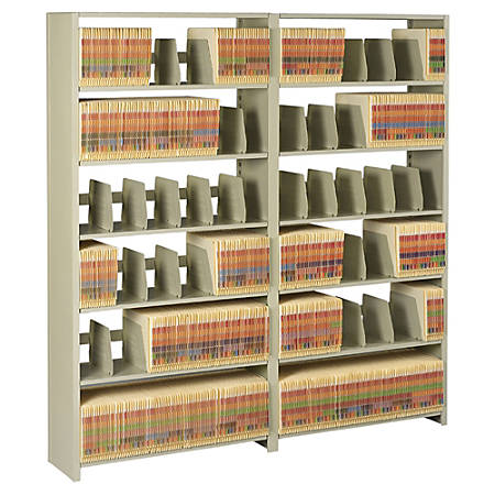 "Tennsco Add-On Shelving For Snap-Together 76"" High Unit, Sand"