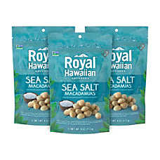Royal Hawaiian Sea Salt Macadamias 4