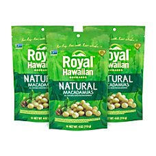 Royal Hawaiian Natural Macadamias Unsalted 4