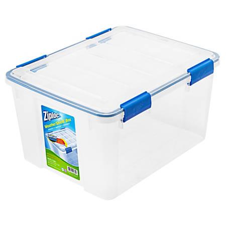 Ziploc Weather Storage Box 44 Qt