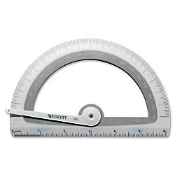 Westcott Student Protractor With Microban Antimicrobial