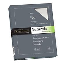 Southworth Naturals Specialty Paper 8 12