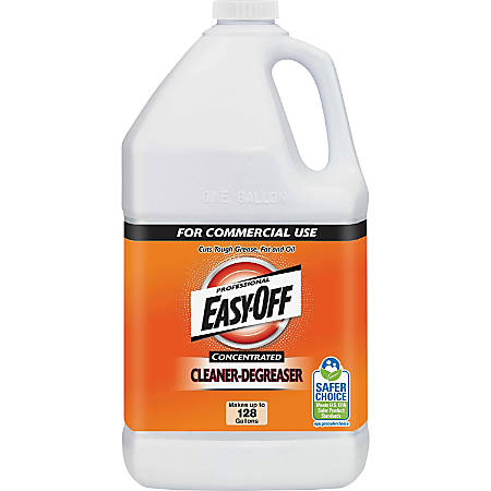Easy-Off Professional Concentrated Cleaner-Degreaser - Concentrate Liquid - 1 gal (128 fl oz) - 1 Each - Green