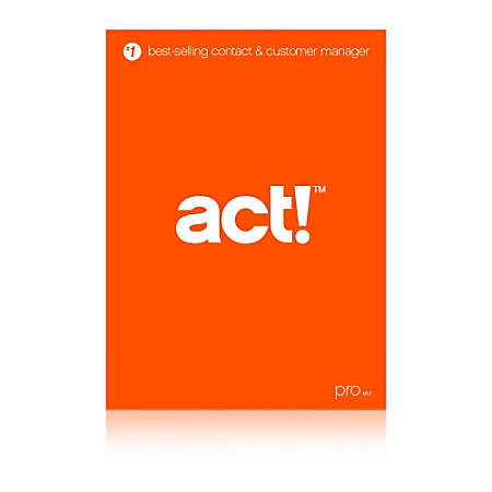 Act! Pro v17 - 5 User Download, Download Version