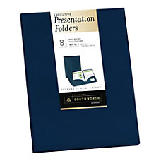 Southworth Professional Presentation Folders 2 Pocket