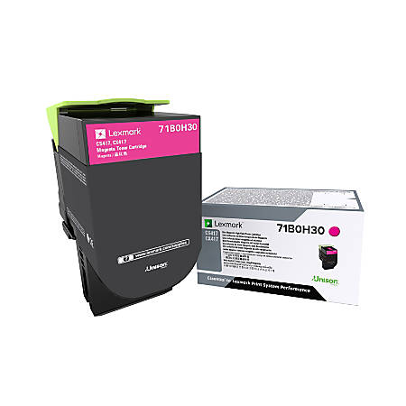 Lexmark™ 71B0H30 High-Yield Magenta Toner Cartridge