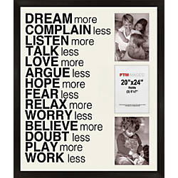 PTM Images Photo Frame Dream More