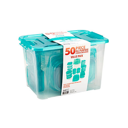 Bradshaw Multi-Use Food Storage Set, Ice Blue