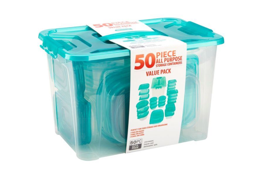 Bradshaw Multi Use Food Storage Set Ice Blue by Office Depot OfficeMax