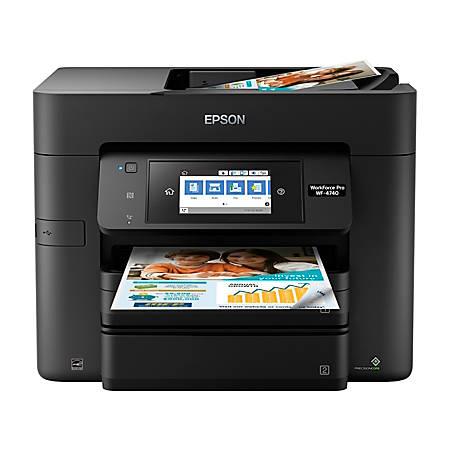 Epson® WorkForce® Pro WF-4740 Wireless All-In-One Printer, Copier, Scanner,  Fax Item # 723002