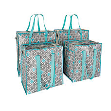 GNBI 4 Piece Shopper Tote Set